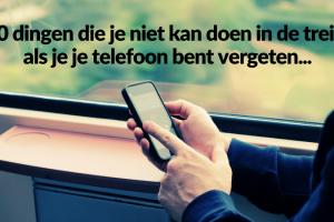 telefoon vergeten