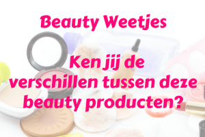 beauty producten