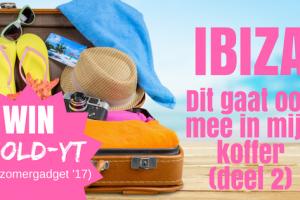 Mee in mijn koffer naar Ibiza