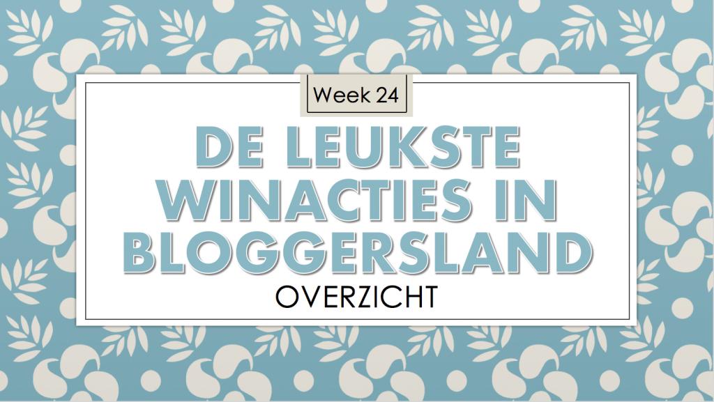 Winacties week 24