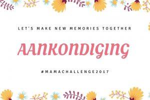 aankondiging Mamachallenge 2017