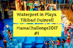 Waterpret in Playa Tikibad
