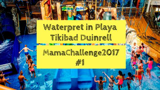 Waterpret in Playa Tikibad