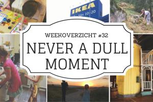 Never a Dull Moment weekoverzicht #32
