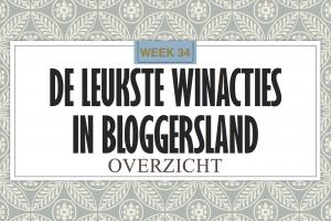 Winacties week 34