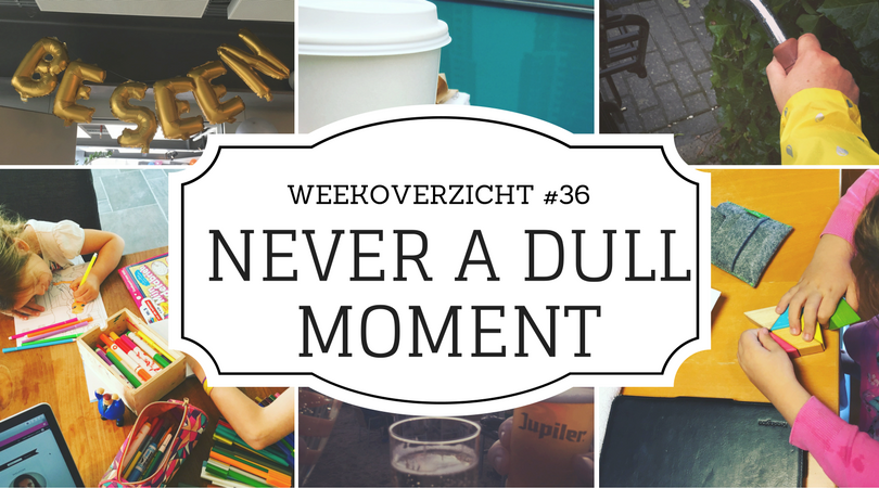Weekoverzicht Never a Dull Moment #36