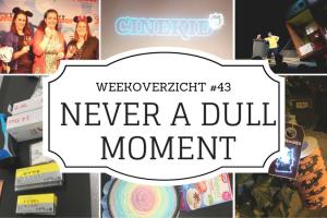 Never a Dull Moment weekoverzicht 43