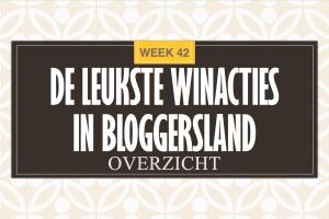 Leukste Winactie Bloggersland week 42