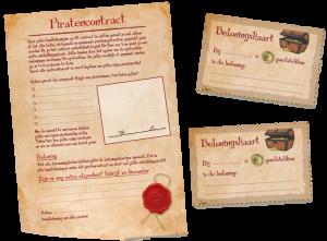 Reis van 5 - piratencontract