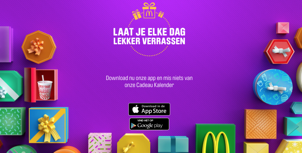 McDonalds Adventskalender