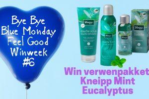 Bye Bye Blue Monday #6 Kneipp Mint Eucalyptus