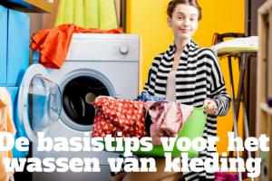 De basistips voor het wassen van kleding