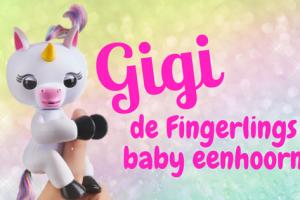 Gigi Fingerlings baby eenhoorn