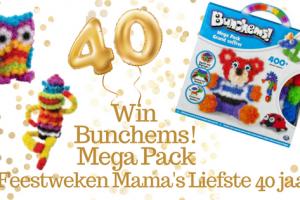 Feestweken Mama's liefste 40 jaar Bunchems
