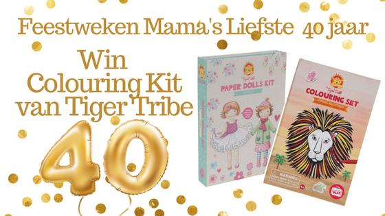 Feestweken Mama's liefste 40 jaar Tiger Tribe