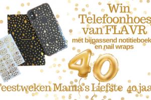 Feestweken Mama's liefste 40 jaar FLAVR