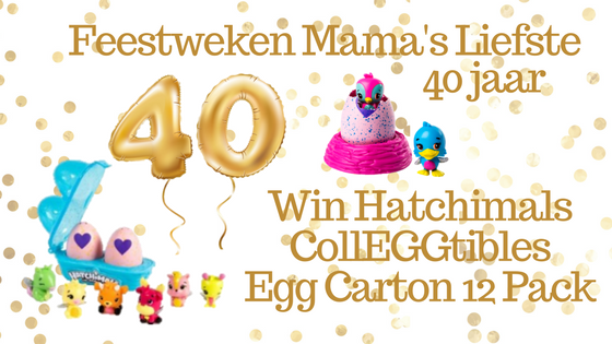 Feestweken Mama's liefste 40 jaar Hatchimals CollEGGtibles