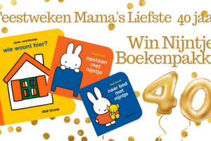 Feestweken Mama's liefste 40 jaar Nijntje Boekenpakket