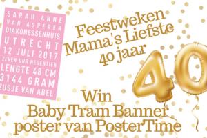 Feestweken Mama's liefste 40 jaar PosterTime