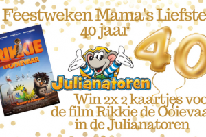 Feestweken Mama's liefste 40 jaar Rikkie de Ooievaar