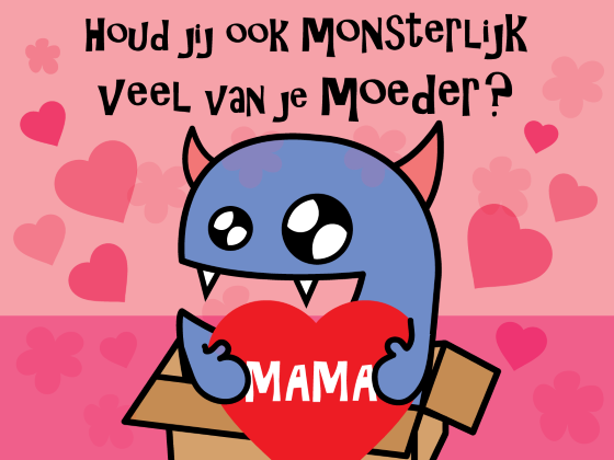 Moederdag Monsterdoos