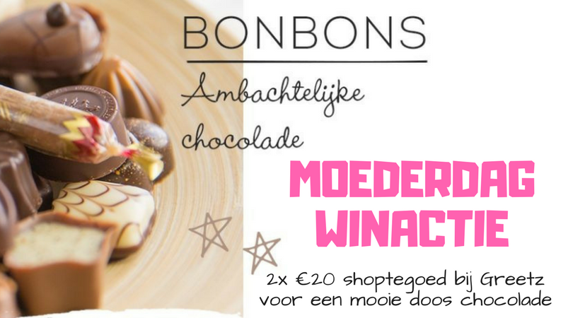 Moederdag Winactie Chocolade Greetz