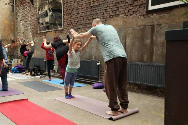 Gratis Vader Kind Yoga - Yogafestival Leiden