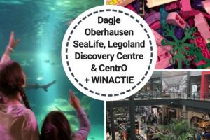 Dagje Oberhausen; SeaLife, Legoland Discovery Centre en shoppen in het Centro + winactie