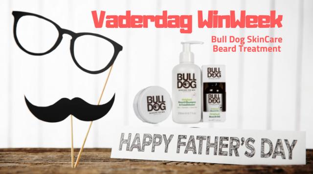 Vaderdag WinWeek #2 Bulldog Beard Care