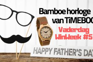 Vaderdag WinWeek #5 TiMEBOO Horloge