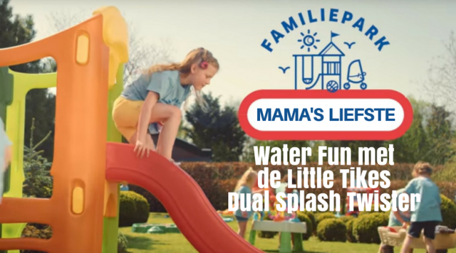Water Fun met de Little Tikes Dual Splash Twister
