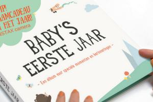 Milestone Baby's eerste jaar album (1)