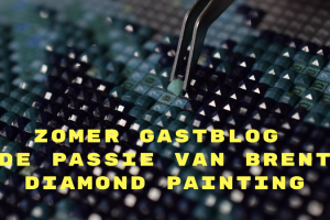 Zomer Gastblog _ De passie van Brent - Diamond painting