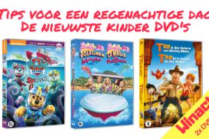 Tips voor een regenachtige dag _ De nieuwste kinder DVD's + winactie