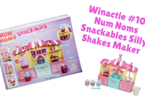 Winactie #10; Num Noms Snackables Silly Shakes Maker