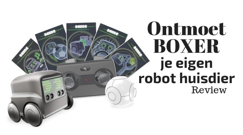 Ontmoet Boxer - je eigen Robot Huisdier