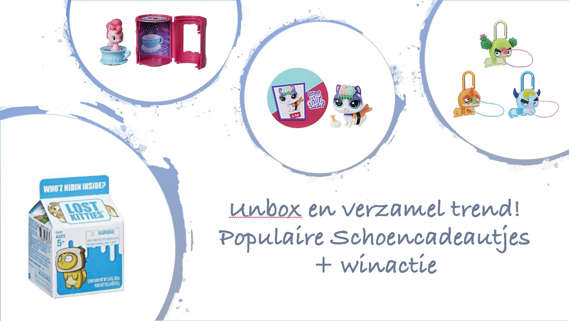 Unbox en verzamel doosjes - populaire Schoencadeautjes+ winactie