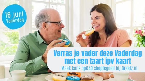 Vaderdag Winactie   Verras je vader met een taart i.p.v. een kaart